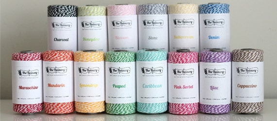 Bakers Twine 240 yard spool COLOR of YOUR CHOICE from The Twinery