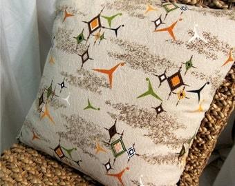 Mid Century Pillow Etsy