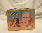 1970s Kung Fu lunchbox
