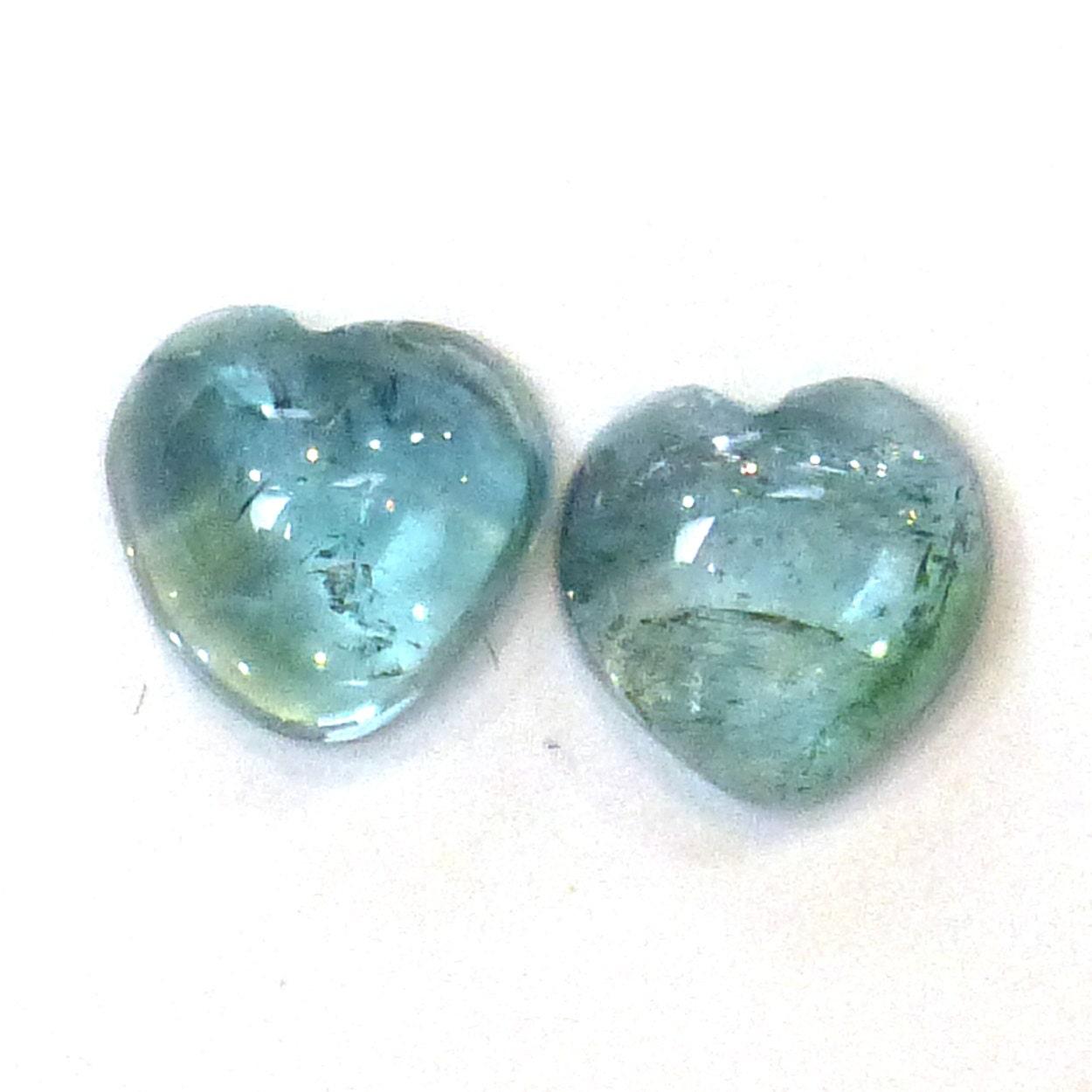 indicolite blue tourmaline cabochons gemstone