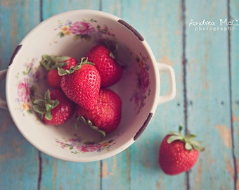 Strawberries ~ 8x10 print