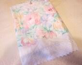 Floral Twin Flat Sheet by Stevens