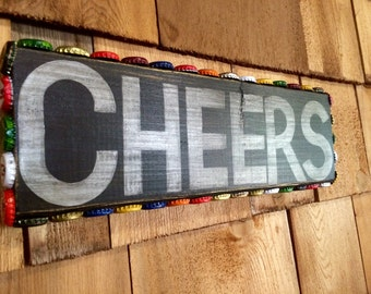 Ready to Ship- Cheers Sign