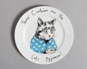 Cats Pyjamas side plate
