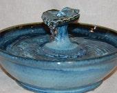 "Cat Water Fountain, Pet Fountain, Indoor Fountain, Foodsafe -   - 12 Inch Diameter - ""Blueshell"""