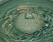 "Cat Fountain - Pet Drinking Fountain -  Indoor Fountain 11.75 Inch Diameter  ""Sea Spray"""