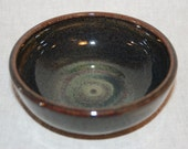 Small Cat Food Bowl - Mahogany