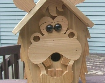 Funky Moose Bird house