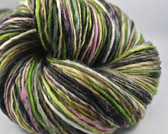 Handspun Yarn Gently Thick and Thin DK Single Falkland 'Propellar'
