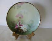 """Thomas,  Sevres Bavaria, Plate ,- Signed by Artist """" Kentz""""  - 1909-1939 - Hallmarked - Roses - Antique - Gifts # 612"""