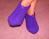 Pair of Grape Sherbert Pocket Slippers