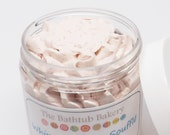 Chocolate Fudge Brownie  Whipped Soap In A Jar 4 ounce Paraben Free