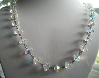 Aurora Borealis Bead Necklace