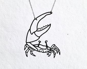 Fiddler Crab Necklace