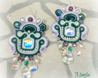 earrings Monet's divagation