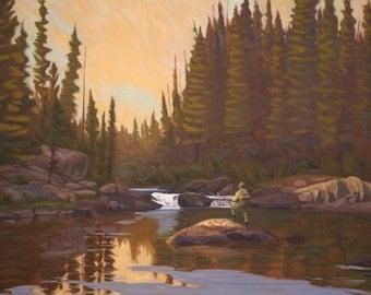 "Oil Landscape ""Private Island"" Limited Print"