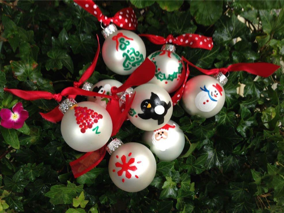 Best 28 Mini Christmas Ornaments Miniature Glass Ball