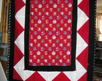 Rudolph the Red Nosed Reindeer Blanket
