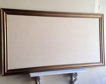 HUGE BULLETIN BOARD Kitchen Wall Organizer Mudroom Memo Board Artwork Display Magnetic Large Office Business Information Board Message Board