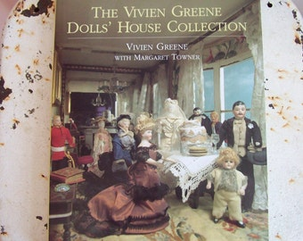 The Vivien Greene Dolls House Collection book hardcover with dustjacket 1995 excellent condition