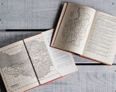 1940s Pair of British Travel Guides | The King's England | London and Somerset | Surveys of British Countryside and Heritage