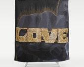 Love - Shower Curtain
