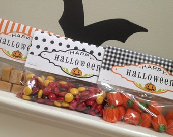 Halloween Treat Bag Topper PRINTABLE