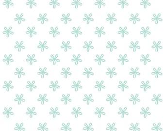 Vinyl wallpaper. Self-adhesive -aqua (tal)