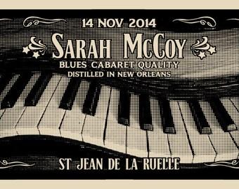 SILKCREEN SARAH MCCOY (rock art poster Sarah McCoy)