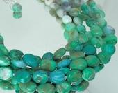 Big and Bold Multistrand Peruvian Blue Opal Necklace