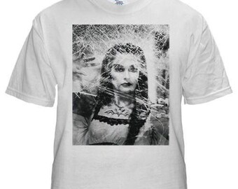 Lily Munster mens white t-shirt S M L XL XXL