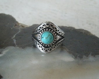 Turquoise Ring southwestern jewelry southwest jewelry turquoise jewelry native american jewelry theme western jewelry cowgirl rodeo country