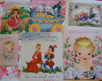 charming darling cards to repurpose