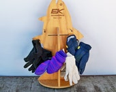 """Vintage Fish Shaped Retail Point of Sale Display Rack """"Ripe for Repurpose"""""""