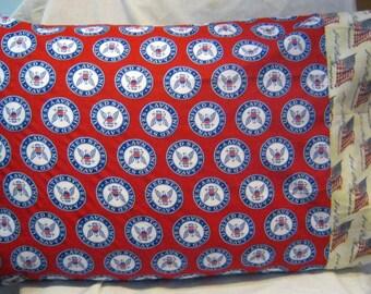 Standard Pillow Case-Navy Pillow Case-Military Pillow Case