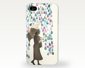 Collage Phone Case for iPhone 4/4s, 5/5s, 5c, 6, 6 Plus and Samsung Galaxy S3, S4 - Rain Dance