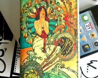 iPhone 4/4S iPhone 5 Pouch Sleeve Case Art Nouveau Monaco Monte Carlo