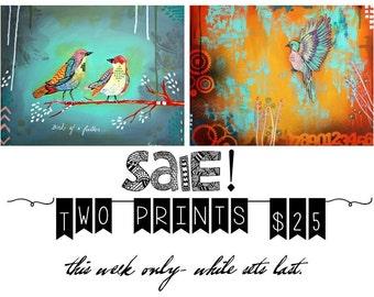 SALE-  2 /11x14 prints