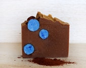 Chocolate Bubble Luscious Handmade Artisan Cold process Soap - based on Greek extra virgin Olive Oil