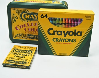 Crayola Collector's Colors Limited Edition