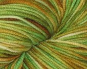Spring Greens 100% Superwash Merino DK Yarn