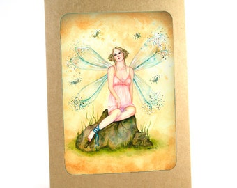 Blonde Fairy Photo Print