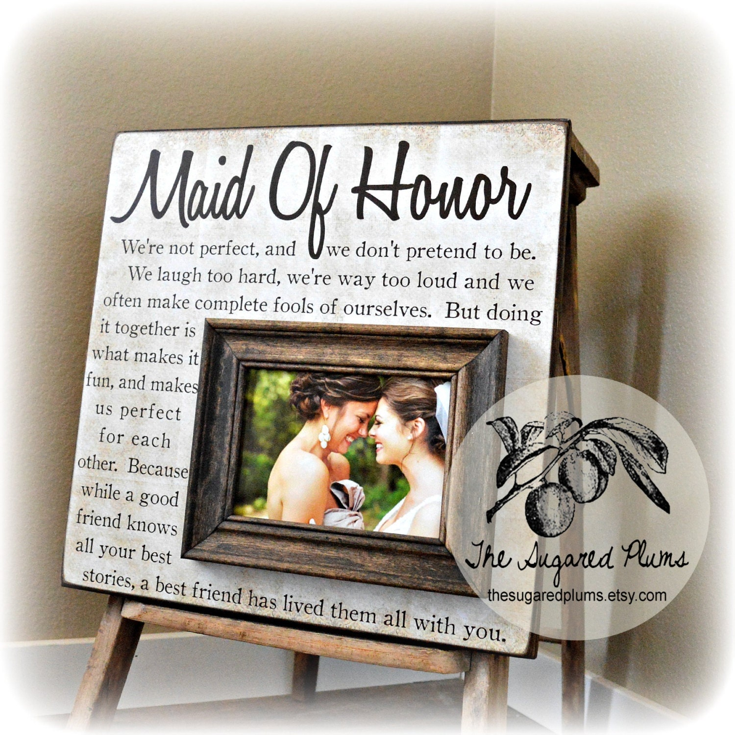Personalized Bridesmaid Gift Maid Of Honor Gift Best Friend
