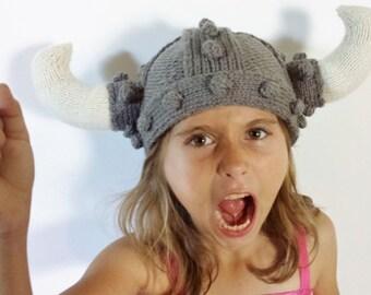 Knit Viking Helm
