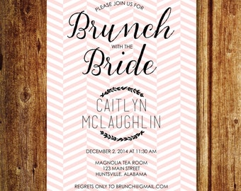 Brunch with the Bride Invitation