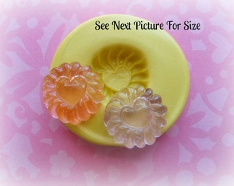 Cabochon Mold Silicone Sweets Mold Resin Polymer Clay Mold