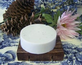 Bentonite Shave Soap with Apple Cider Vinegar - All Natural - Unscented