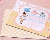 Vintage Paper Doll Invitations