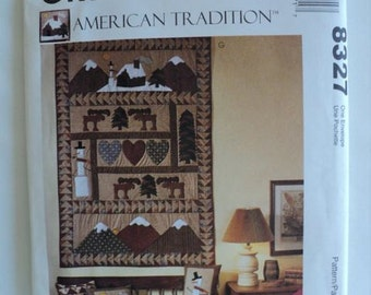 American Tradition Sewing Pattern – Folk Art Christmas – McCall's Crafts No. 8327