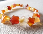 Star Carnelian Stretch Bracelet